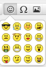 Roundcube WebMail Emoticons