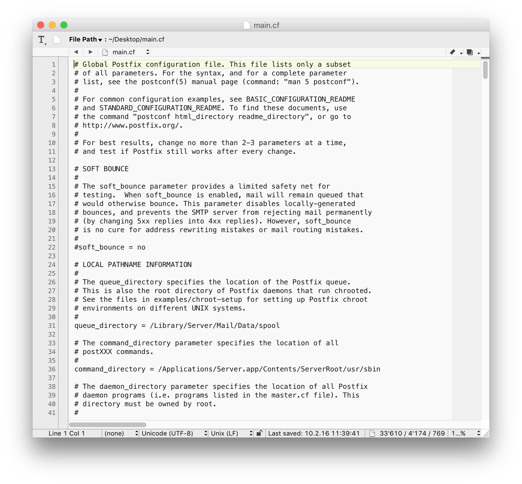How to Edit Text Configuration Files on OS X Server